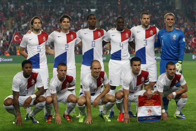 Netherlands World Cup Roster 2014: Updates on 23-Man Squad, Likely Starting 11