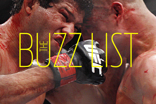 The Buzz List: The 5 Hottest, Most Controversial MMA Topics for 10/21-10/27