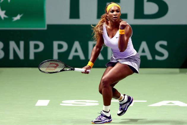 WTA Championships 2013: Daily Scores, Results and Schedule