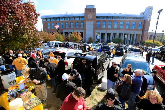 College Football 2013: Power Ranking the Best Week 9 Tailgating Sites