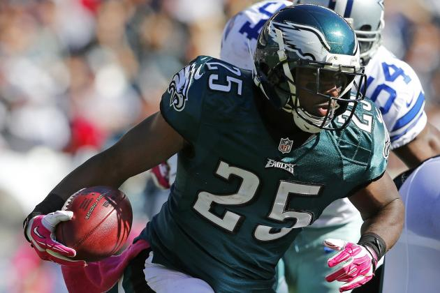 Updated Fantasy Projections for NFL's Top Running Backs