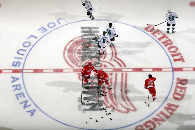 Early 2013-14 Grades for Each Detroit Red Wings Forward Line