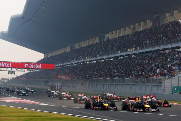 Formula 1 Indian Grand Prix Preview: Tyres, DRS, Weather, Session and TV Times