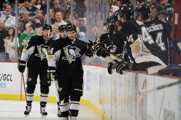 Early 2013-2014 Grades for Each Pittsburgh Penguins' Line and Defense Pairing