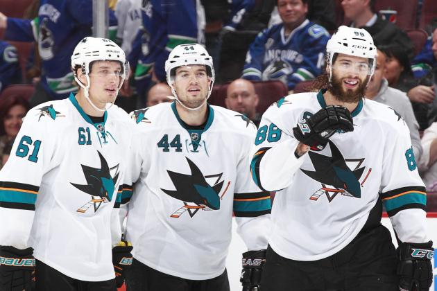Which 5 San Jose Sharks Will Have the Best Plus-Minus Stats in 2013-14?