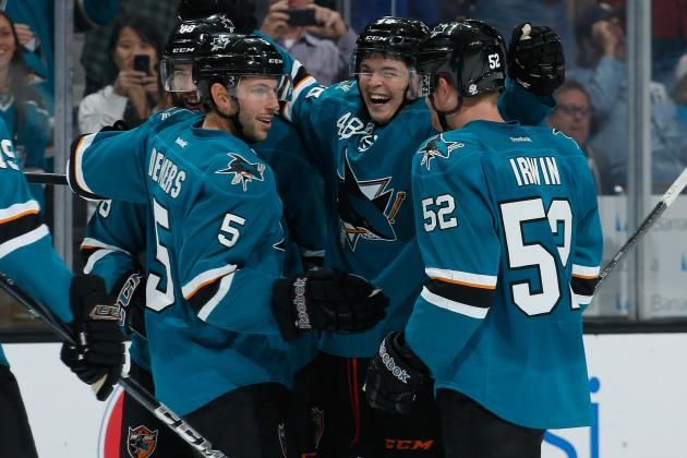 Buy, Sell the San Jose Sharks' Hot Start to 2013-14 Season