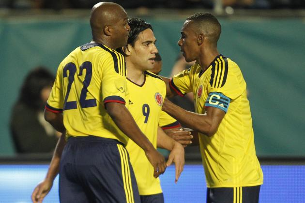 Colombia World Cup Roster 2014: Updates on 23-Man Squad, Starting 11 Projections