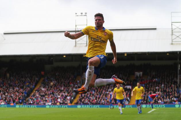 Crystal Palace vs. Arsenal: 6 Things We Learned