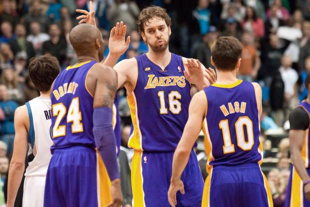 Grading the Lakers' Final 15-Man Roster