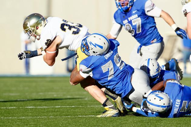 Notre Dame Football: 10 Things We Learned in Irish's Win Against Air Force