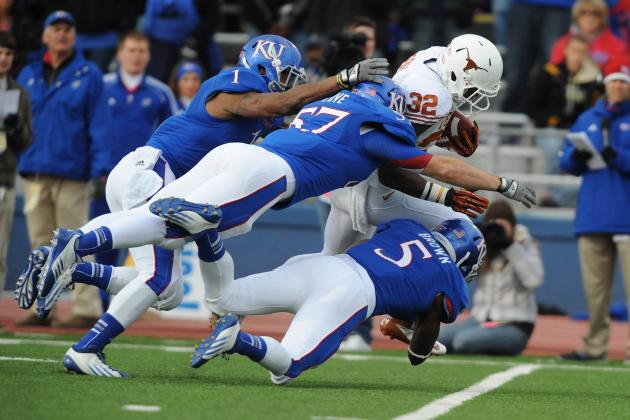 Texas Longhorns vs. Kansas Jayhawks: Complete Game Preview