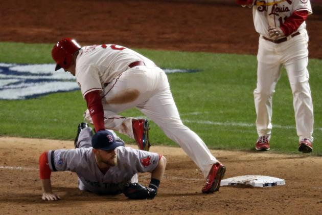 Ranking Cardinals 'Trip-off with Most Controversial World Series Plays Ever