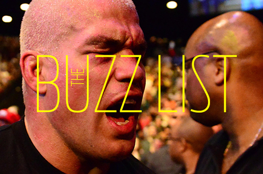 The Buzz List: The 5 Hottest, Most Controversial MMA Topics for 10/28-11/3
