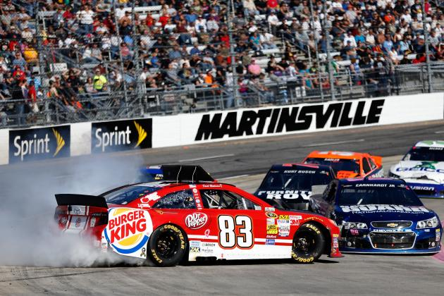 Biggest Winners and Losers from NASCAR Sprint Cup Series at Martinsville