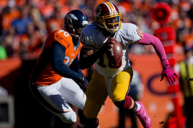 Washington Redskins vs. Denver Broncos: Takeaways from Washington's 21-45 Loss