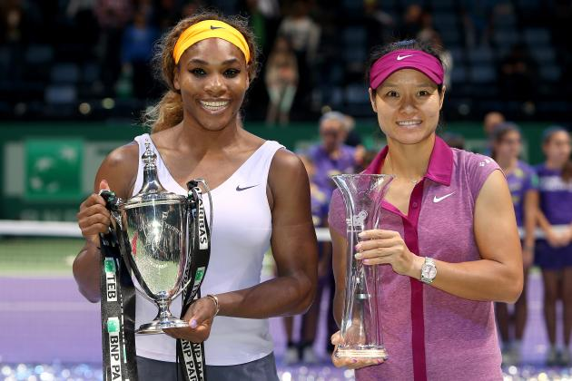 Power Ranking the Top 10 Women's Tennis Players After 2013 WTA Championships