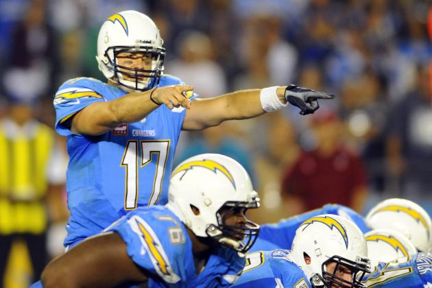 San Diego Chargers Positional Grades at Season's Midpoint