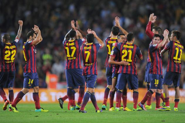 How Barcelona Will Line Up Against Celta Vigo