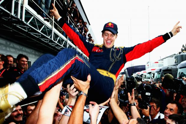 Ranking Sebastian Vettel's Best Seasons in Formula 1
