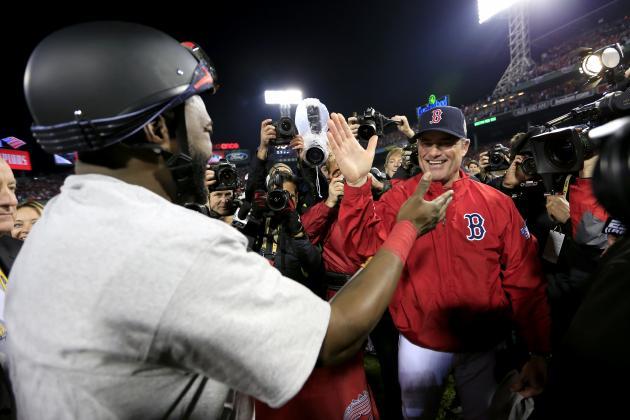 Timeline of Boston Red Sox 2013 World Series Championship Season