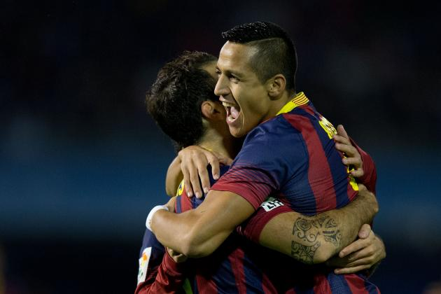 La Liga Results: Analysis for Celta Vigo vs. Barcelona, Plus All Midweek Matches