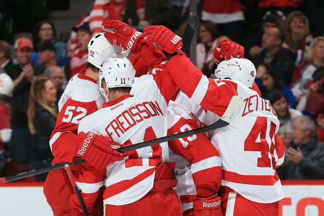 Preview and Predictions for Detroit Red Wings' Upcoming 4-Game Road Trip