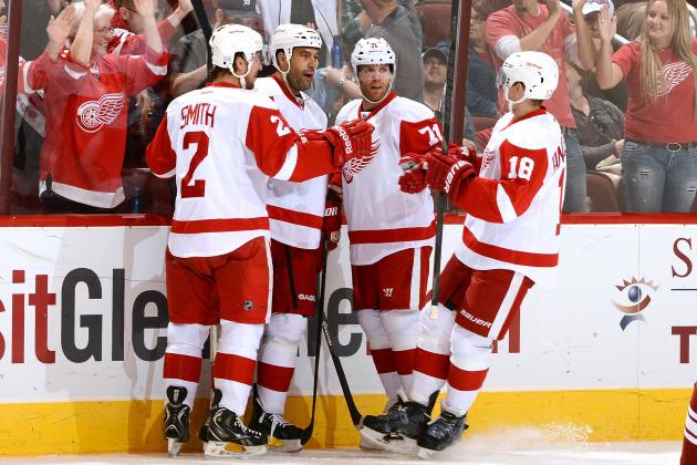 5 Lineup Changes Detroit Red Wings Should Consider