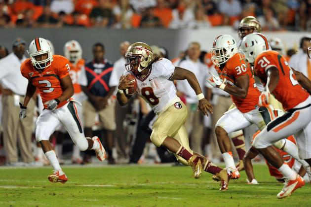 Florida State Seminoles vs. Miami Hurricanes