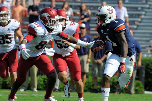 Auburn Tigers vs. Arkansas Razorbacks: The Complete Preview