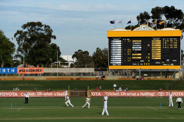 Western Australia Chairman's XI vs. England XI: Scorecard and Daily Recaps
