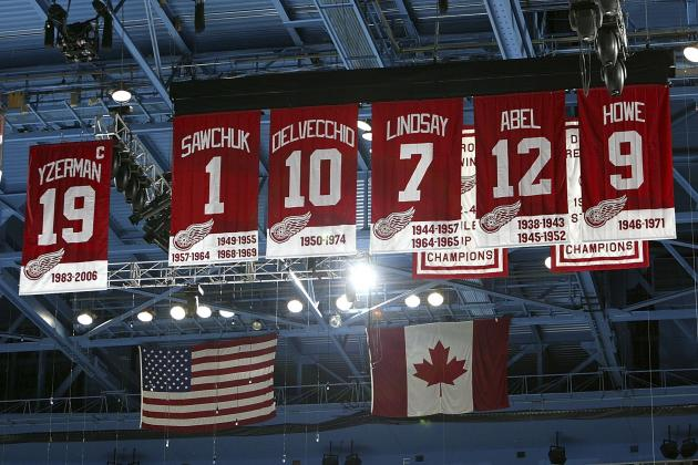 The All-Time Greatest Detroit Red Wings at Every Position