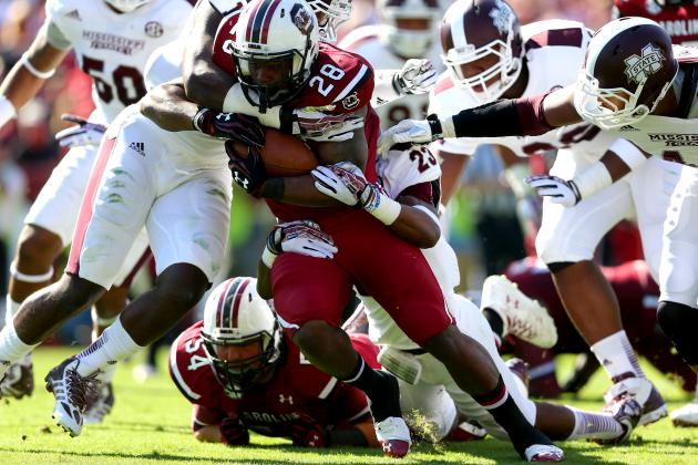 Mississippi State vs. South Carolina: 10 Things We Learned in Gamecocks' Win