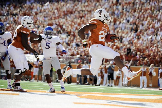 Kansas vs. Texas: 10 Things We Learned in the Longhorns' Win