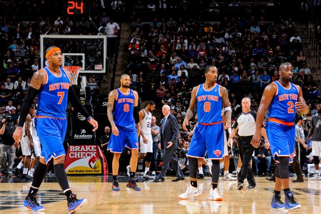 6 Reasons Why the New York Knicks Won't Win the 2013-14 NBA Championship