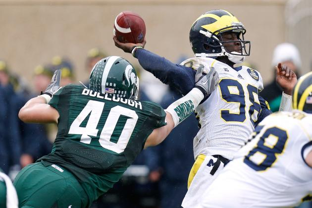 Michigan vs. Michigan State: 10 Things We Learned in Wolverines' Loss