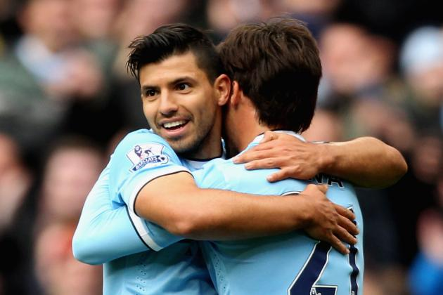 Premier League Team of the Week: Begovic, Caulker, Aguero and Rooney Star