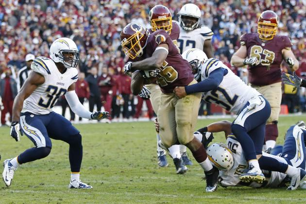 Chargers vs. Redskins: Takeaways from San Diego's 30-24 OT Loss to Washington