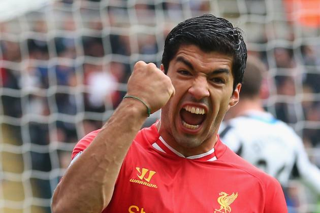 Luis Suarez's 20 Best Goals of His Liverpool Career