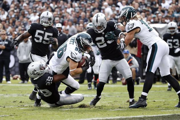 Eagles vs. Raiders: Takeaways from Oakland's 49-20 Loss to Philadelphia