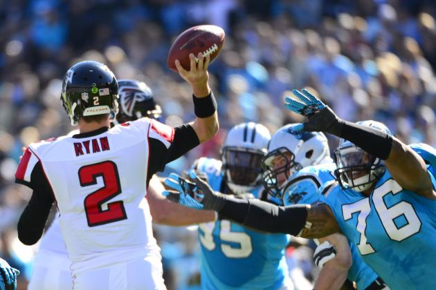 Falcons vs. Panthers: Full Roster Report Card Grades for Atlanta
