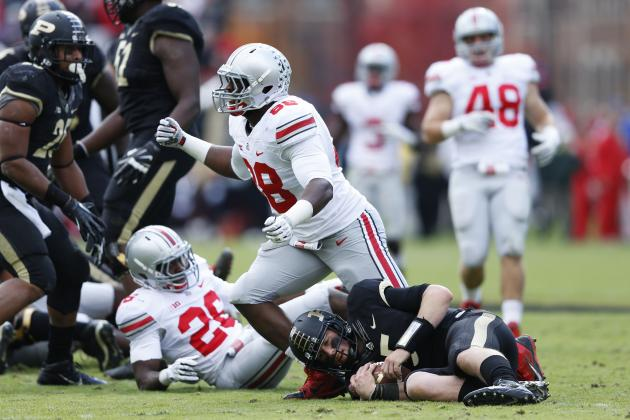Big Ten Football: Conference Play Midterm Grades and Rose Bowl Chances