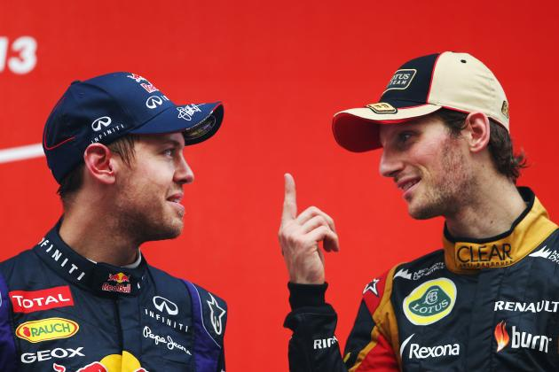 Ranking Formula 1's Top 5 Drivers on Current Form