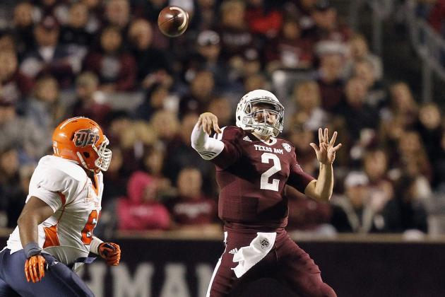 Texas A&M Football: 4 Biggest Improvements Johnny Manziel Has Made in 2013