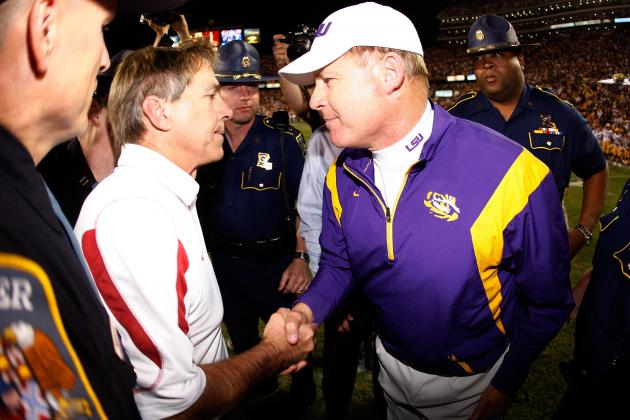LSU vs. Alabama: The Top 10 Moments of the Nick Saban vs. Les Miles Rivalry