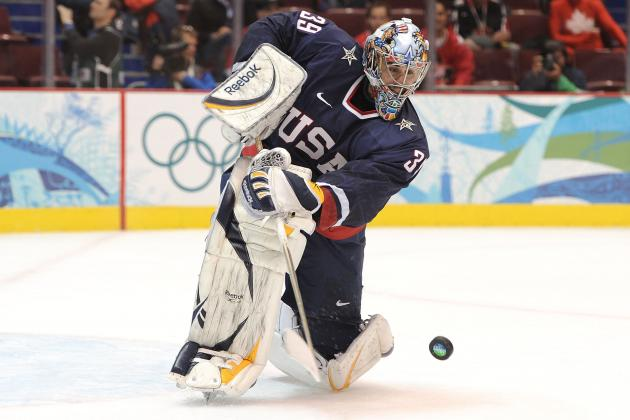 Which Goalie Is Winning the Race for Team USA's Olympic Starting Job?
