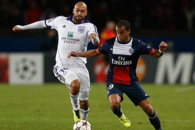 Paris Saint-Germain vs. Anderlecht: 6 Things We Learned