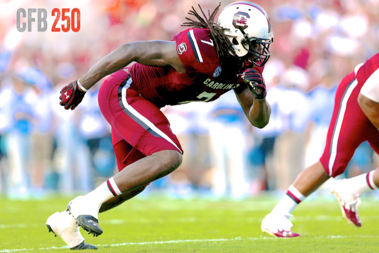 B/R CFB 250: Top 15 4-3 Defensive Ends in College Football