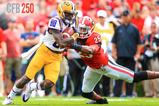 B/R CFB 250: Top 24 Wide Receivers in College Football