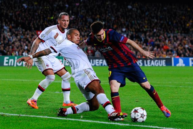 Barcelona vs. AC Milan: 5 Things We Learned