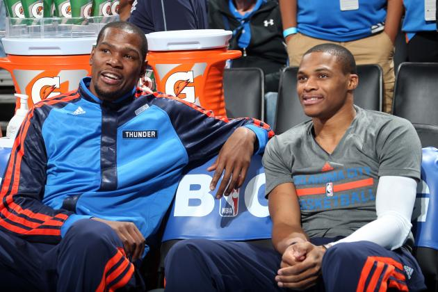 Studs and Duds from OKC Thunder's First Slate of Games